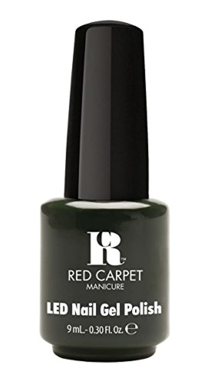 スペース市区町村応答Red Carpet Manicure - LED Nail Gel Polish - Diva in Disguise - 0.3oz/9ml