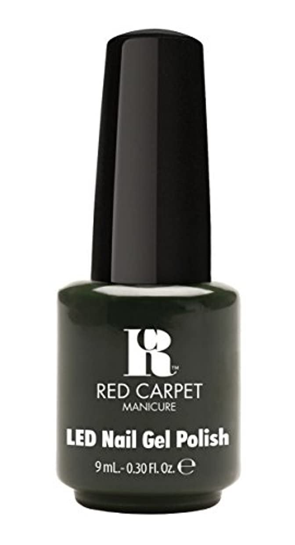 致命的な困惑祖父母を訪問Red Carpet Manicure - LED Nail Gel Polish - Diva in Disguise - 0.3oz/9ml