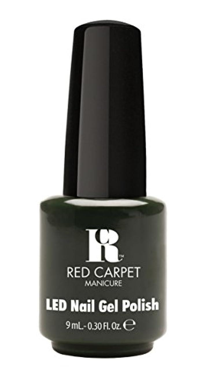 ロードブロッキング価値一元化するRed Carpet Manicure - LED Nail Gel Polish - Diva in Disguise - 0.3oz/9ml