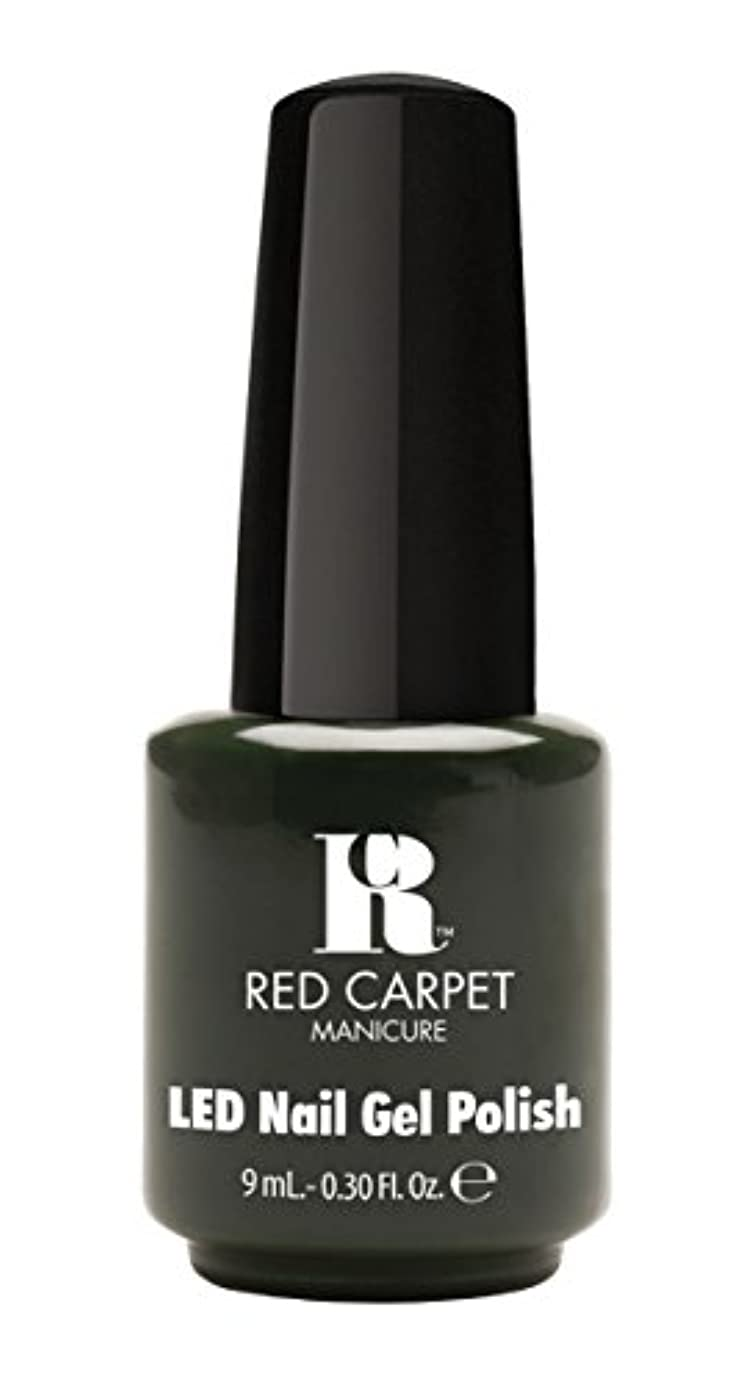 木製ラベルこだわりRed Carpet Manicure - LED Nail Gel Polish - Diva in Disguise - 0.3oz/9ml