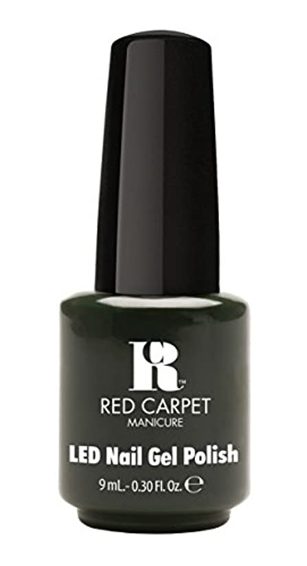 前者市区町村ボーナスRed Carpet Manicure - LED Nail Gel Polish - Diva in Disguise - 0.3oz/9ml