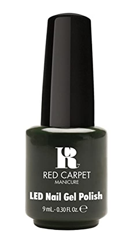 トレーダー鋼超高層ビルRed Carpet Manicure - LED Nail Gel Polish - Diva in Disguise - 0.3oz/9ml