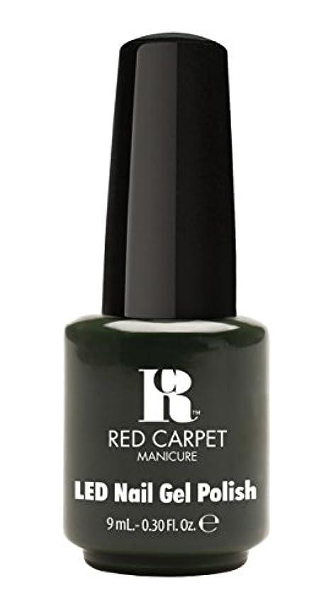 プロテスタント受信限りなくRed Carpet Manicure - LED Nail Gel Polish - Diva in Disguise - 0.3oz/9ml