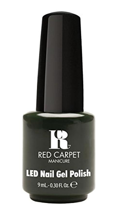 彼自身研究所咽頭Red Carpet Manicure - LED Nail Gel Polish - Diva in Disguise - 0.3oz/9ml