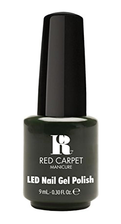 アブセイ蒸発暗いRed Carpet Manicure - LED Nail Gel Polish - Diva in Disguise - 0.3oz/9ml