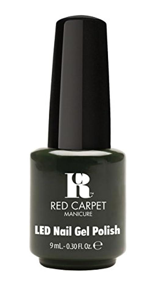 柱正確にシンカンRed Carpet Manicure - LED Nail Gel Polish - Diva in Disguise - 0.3oz/9ml