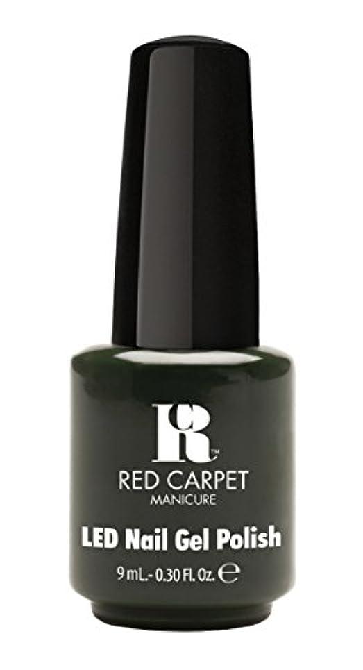 謙虚なシャータールRed Carpet Manicure - LED Nail Gel Polish - Diva in Disguise - 0.3oz/9ml