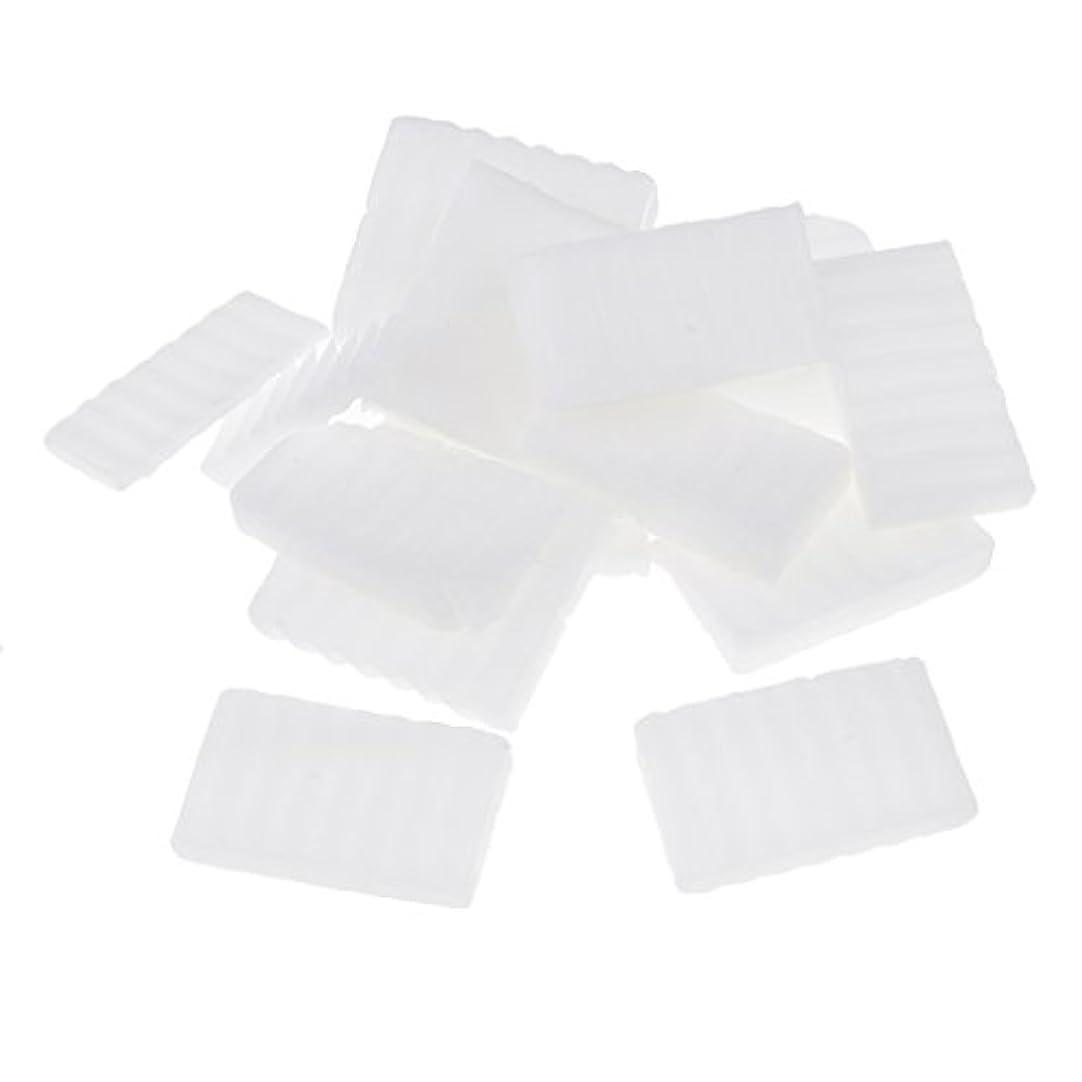 Prettyia 約500g  白い 石鹸ベース DIY 手作り 石鹸 材料 DIY バス用品