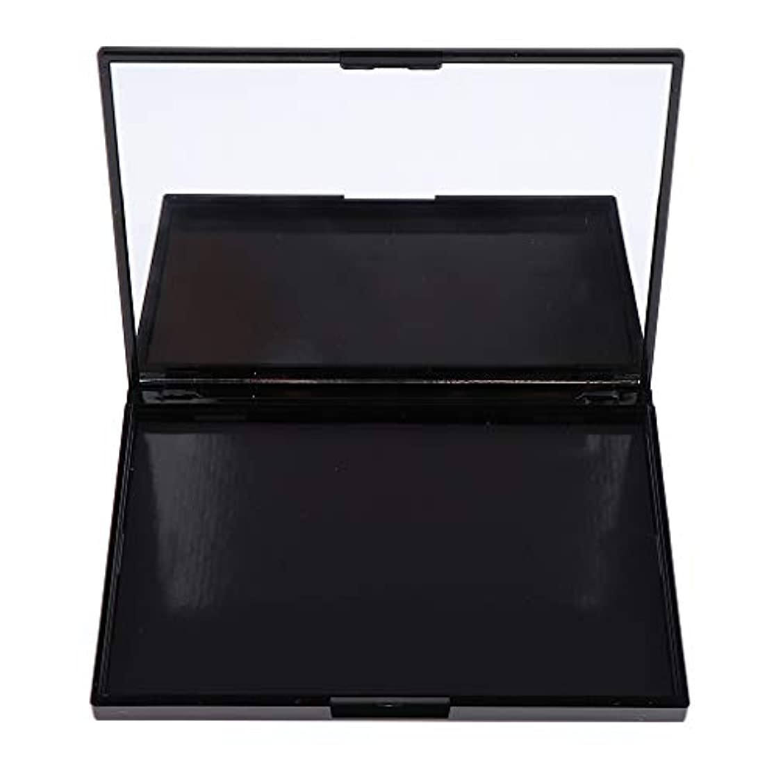 B Blesiya アイシャドウパレット 磁気パレット DIY 収納ケース ミラー付き 可愛い 3タイプ選べ - ローズフラワー