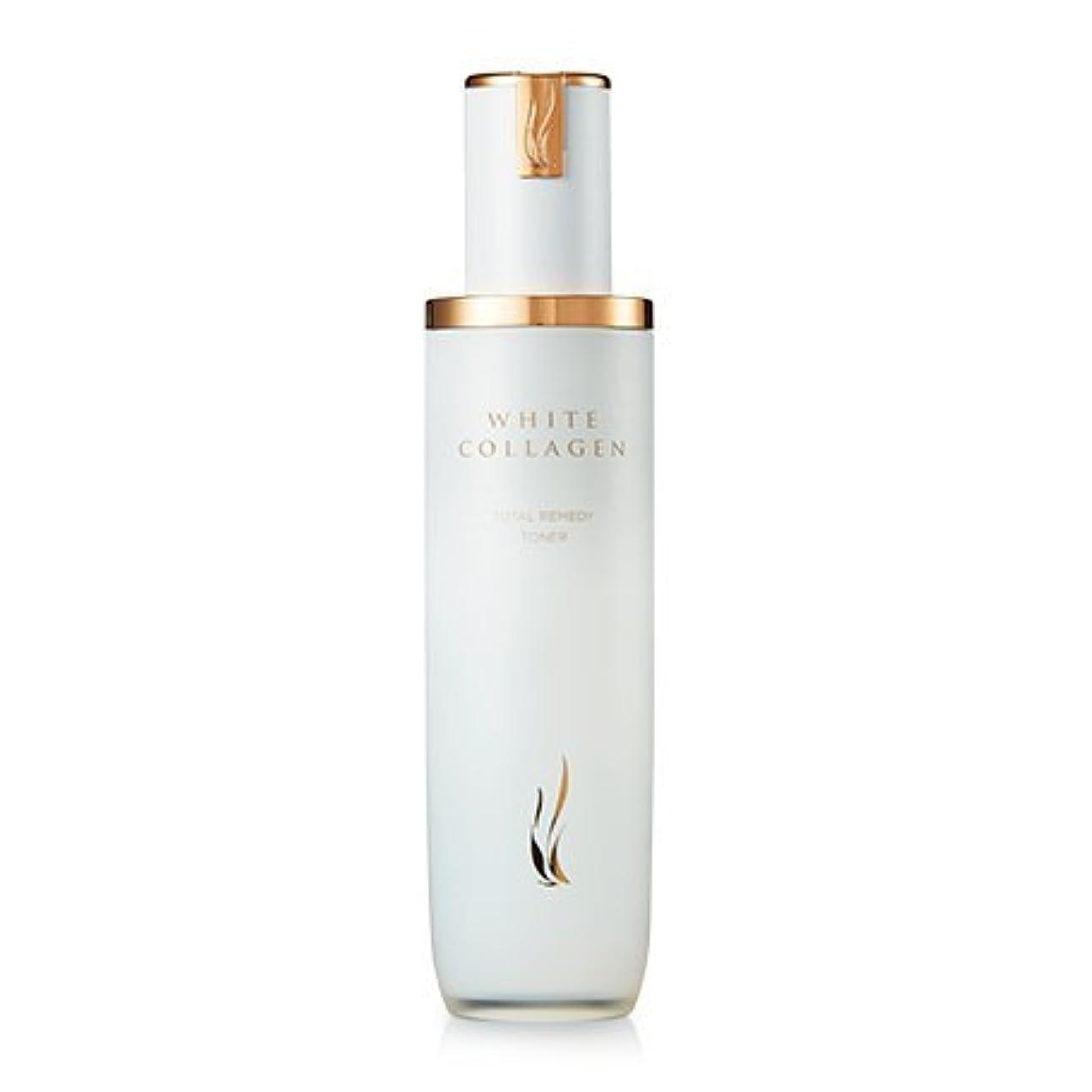 断言する大混乱香り[New] A.H.C (AHC) White Collagen Total Remedy Toner 130ml/A.H.C ホワイト コラーゲン トータル レミディ トナー 130ml [並行輸入品]
