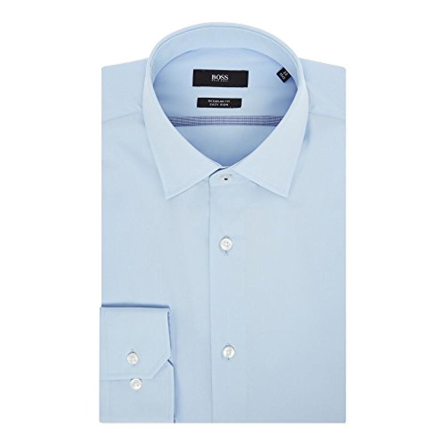 長老フレアミキサー(ヒューゴ ボス) Hugo Boss メンズ トップス シャツ Poplin Contrast Trim Shirt [並行輸入品]