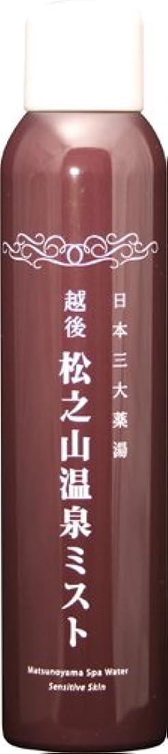 友だち貧しいもの松之山温泉ミスト200g