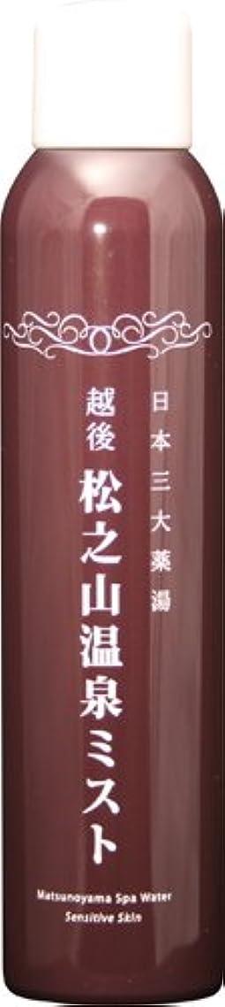 恐れる不均一成分松之山温泉ミスト200g