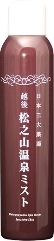 スモッグスペイン語旋律的松之山温泉ミスト200g