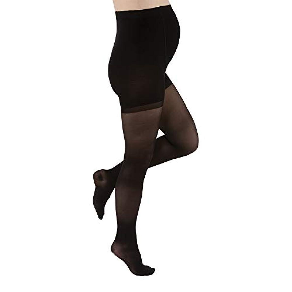 屋内でバスタブトリッキーJobst 121617 Ultrasheer Maternity Pantyhose 20-30 mmHg Firm Support - Size & Color- Classic Black X-Large