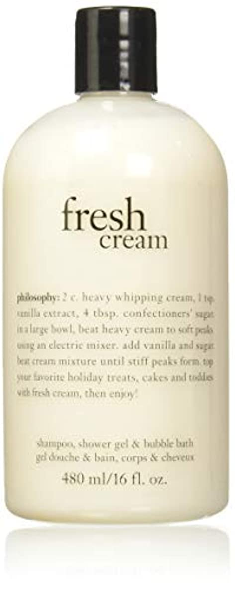 兄弟愛エンディング証明書Philosophy Fresh Cream Shampoo, Shower Gel & Bubble Bath for Unisex, 16 Ounce