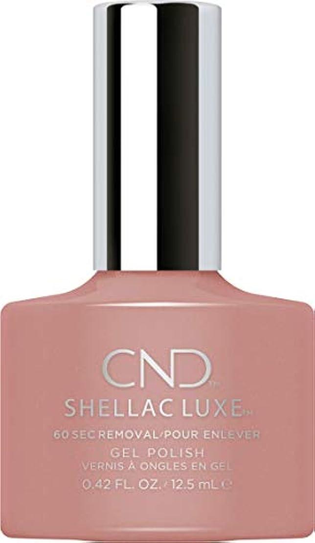 操作図妥協CND Shellac Luxe - Satin Pajamas - 12.5 ml / 0.42 oz