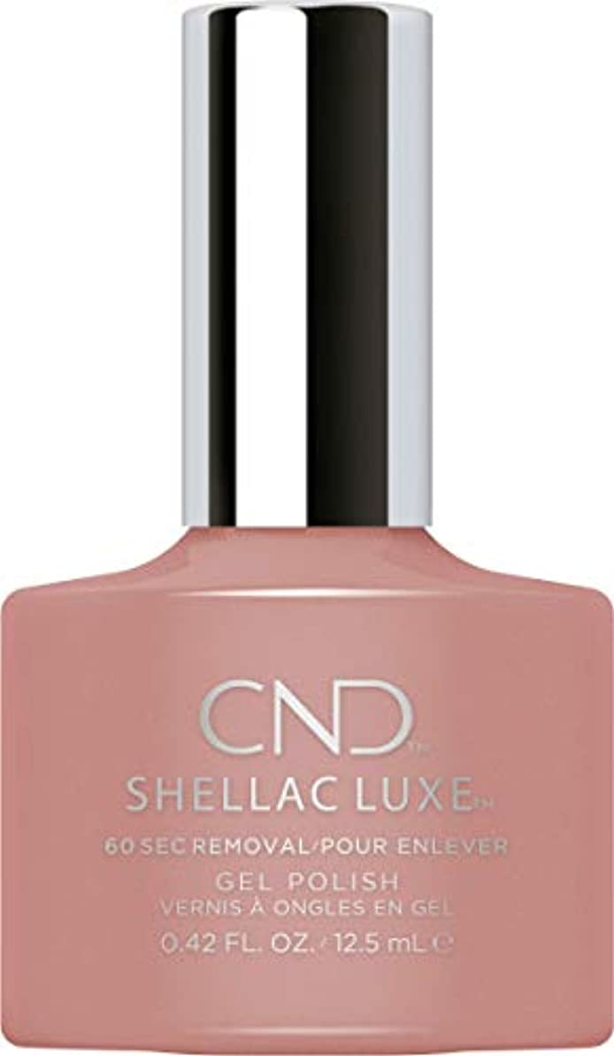 デジタル壊滅的な敬の念CND Shellac Luxe - Satin Pajamas - 12.5 ml / 0.42 oz