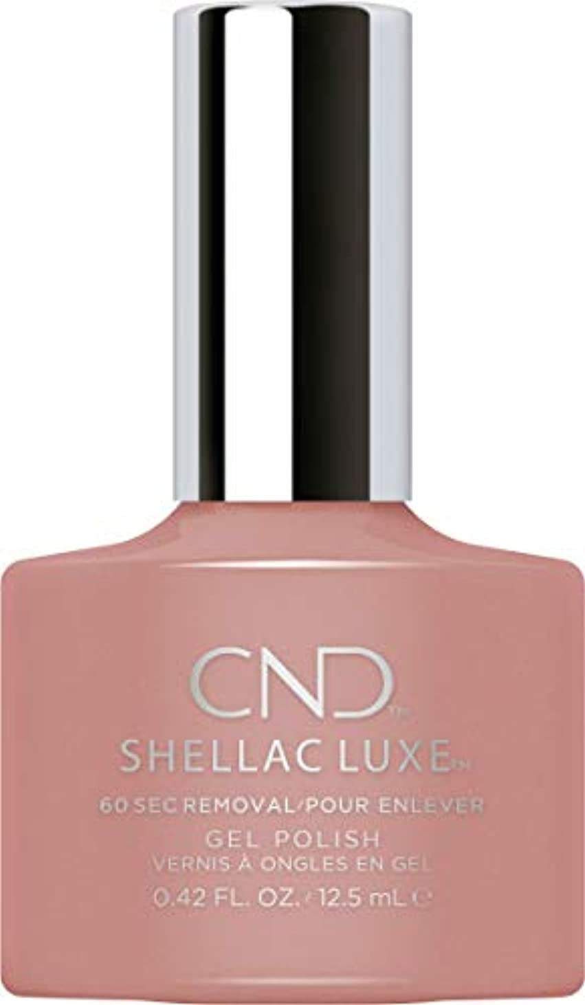 爆発物溶かすめまいCND Shellac Luxe - Satin Pajamas - 12.5 ml / 0.42 oz