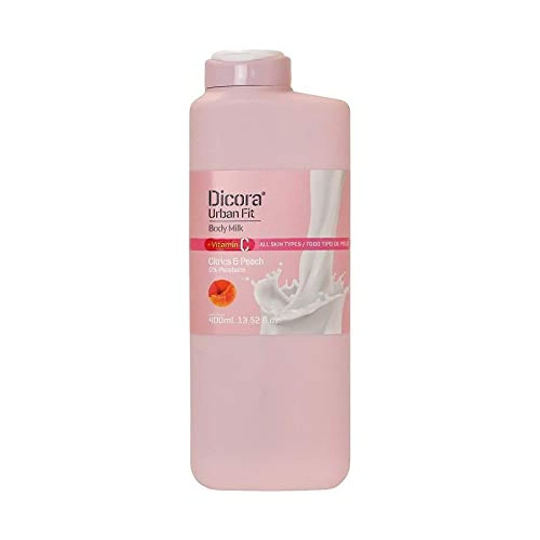 性的子犬弾性Dicora(ディコラ) ディコラ アーバンフィット シャワージェル MK&ML 400ml ボディクリーム シトラス & ピーチの香り
