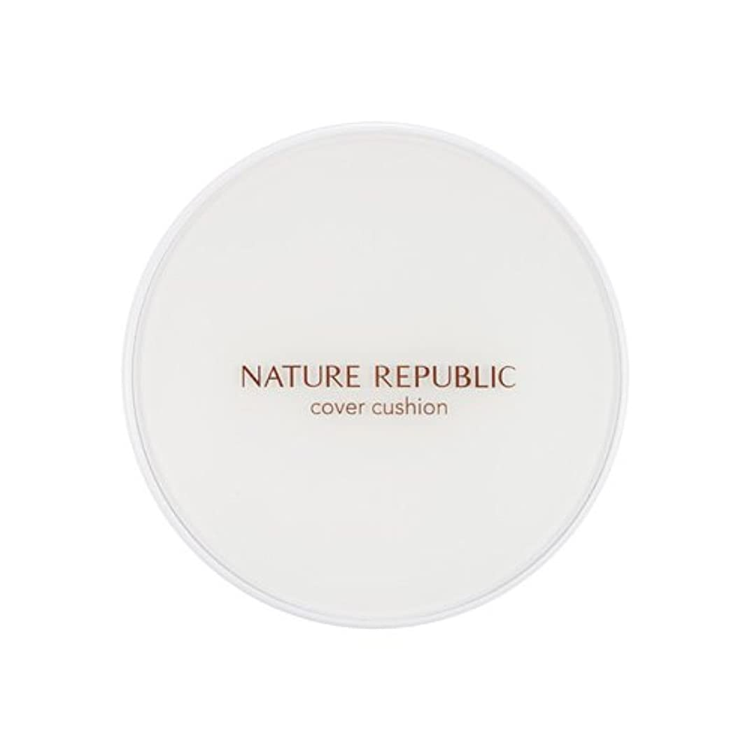 弁護人写真ガイド[Outlet] NATURE REPUBLIC Nature Origin Cover Cushion (01 Light beige) (SPF50+ PA+++) [並行輸入品]
