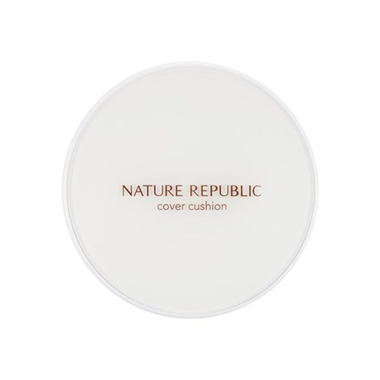 和解する代理人除外する[Outlet] NATURE REPUBLIC Nature Origin Cover Cushion (01 Light beige) (SPF50+ PA+++) [並行輸入品]