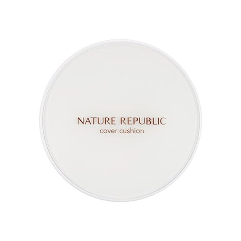 スポットビジュアル発動機[Outlet] NATURE REPUBLIC Nature Origin Cover Cushion (01 Light beige) (SPF50+ PA+++) [並行輸入品]