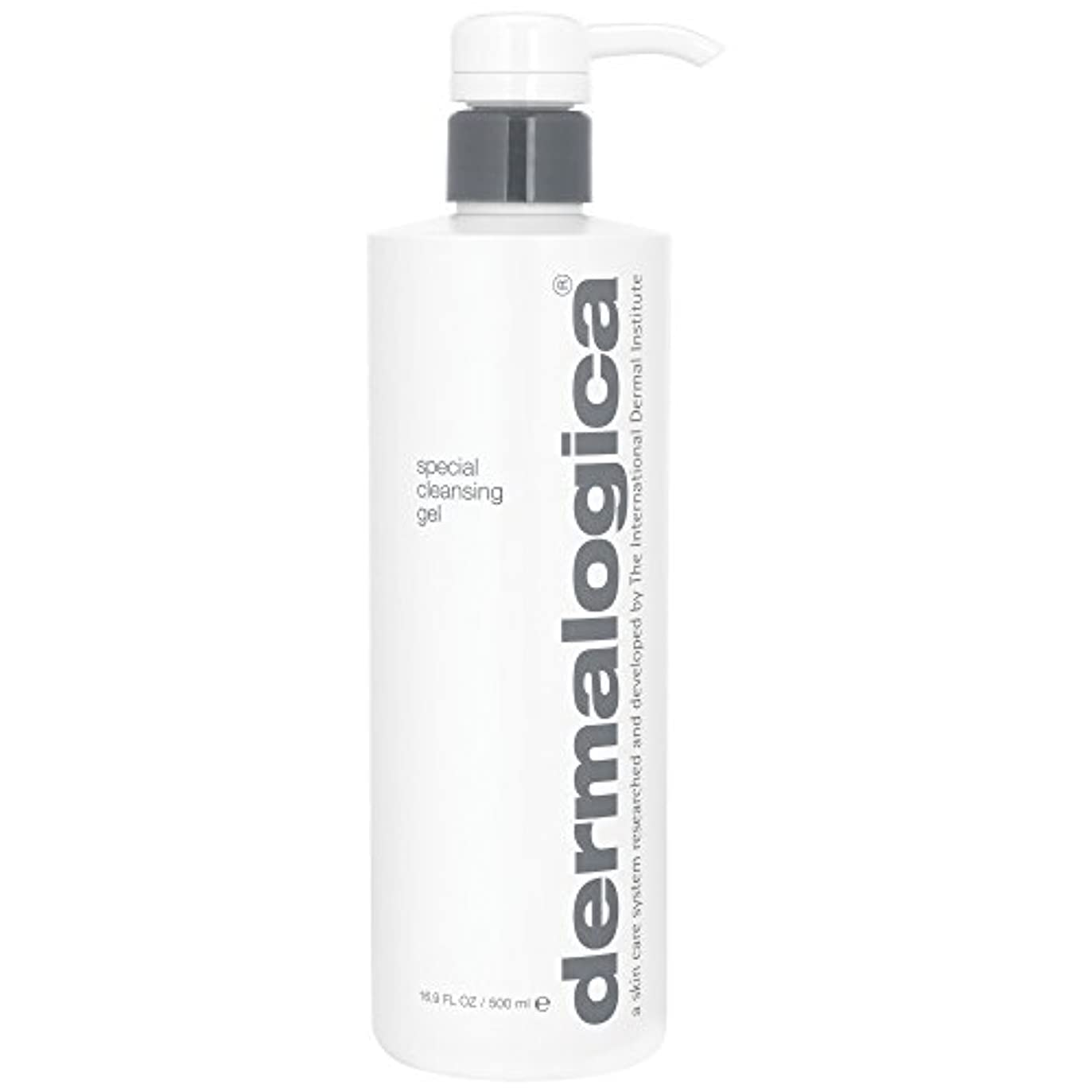 限り厚いぴったりダーマロジカ特別なクレンジングゲル500ミリリットル (Dermalogica) - Dermalogica Special Cleansing Gel 500ml [並行輸入品]
