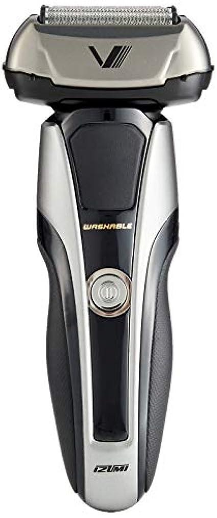 拍手多用途ペッカディロIZUMI Z-DRIVE ハイエンドシリーズ 往復式シェーバー 5枚刃 シルバー IZF-V998-S-EA