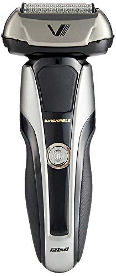 コーナーコンプライアンス医療のIZUMI Z-DRIVE ハイエンドシリーズ 往復式シェーバー 5枚刃 シルバー IZF-V998-S-EA