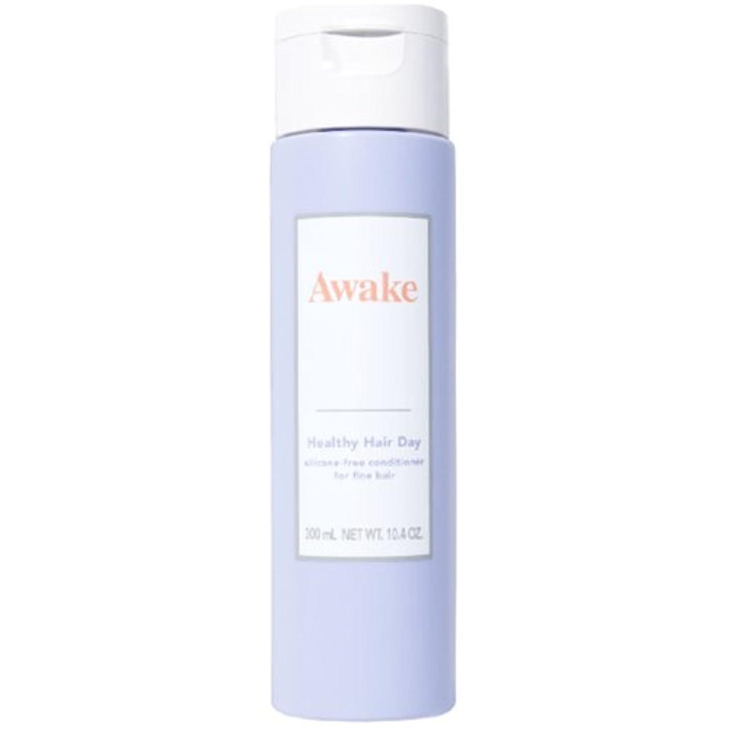 ダニクロニクル不承認アウェイク(AWAKE) Awake(アウェイク) ヘルシーヘアデイ シリコーンフリー ヘアコンディショナー ハリコシアップヘア用 (300mL)