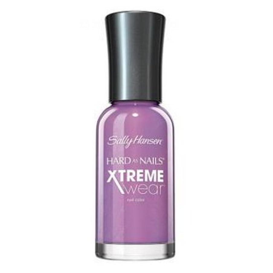 暴力脱走予言するSALLY HANSEN Hard As Nails Xtreme Wear - Violet Voltage (並行輸入品)