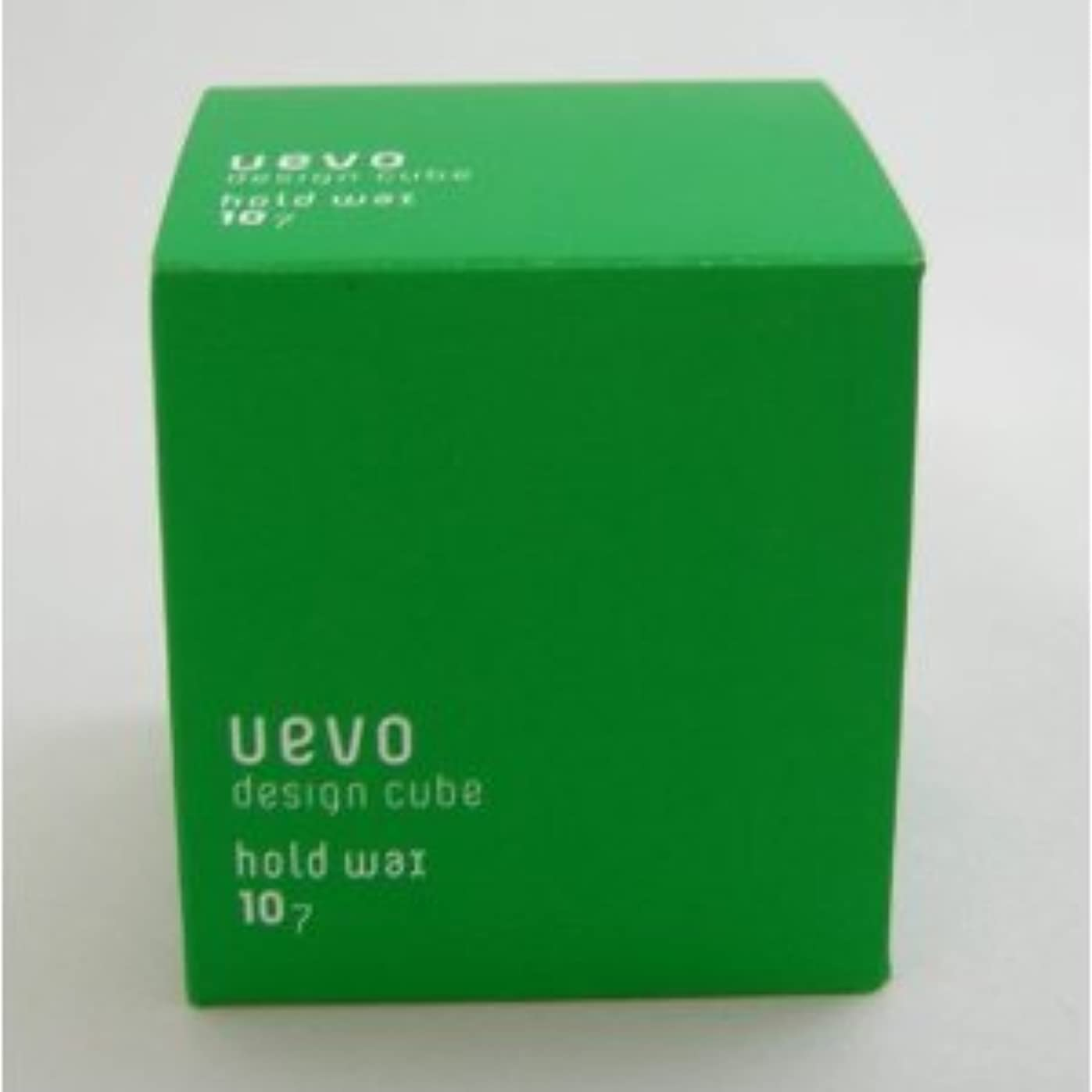指紋かなりのポジション【X3個セット】 デミ ウェーボ デザインキューブ ホールドワックス 80g hold wax