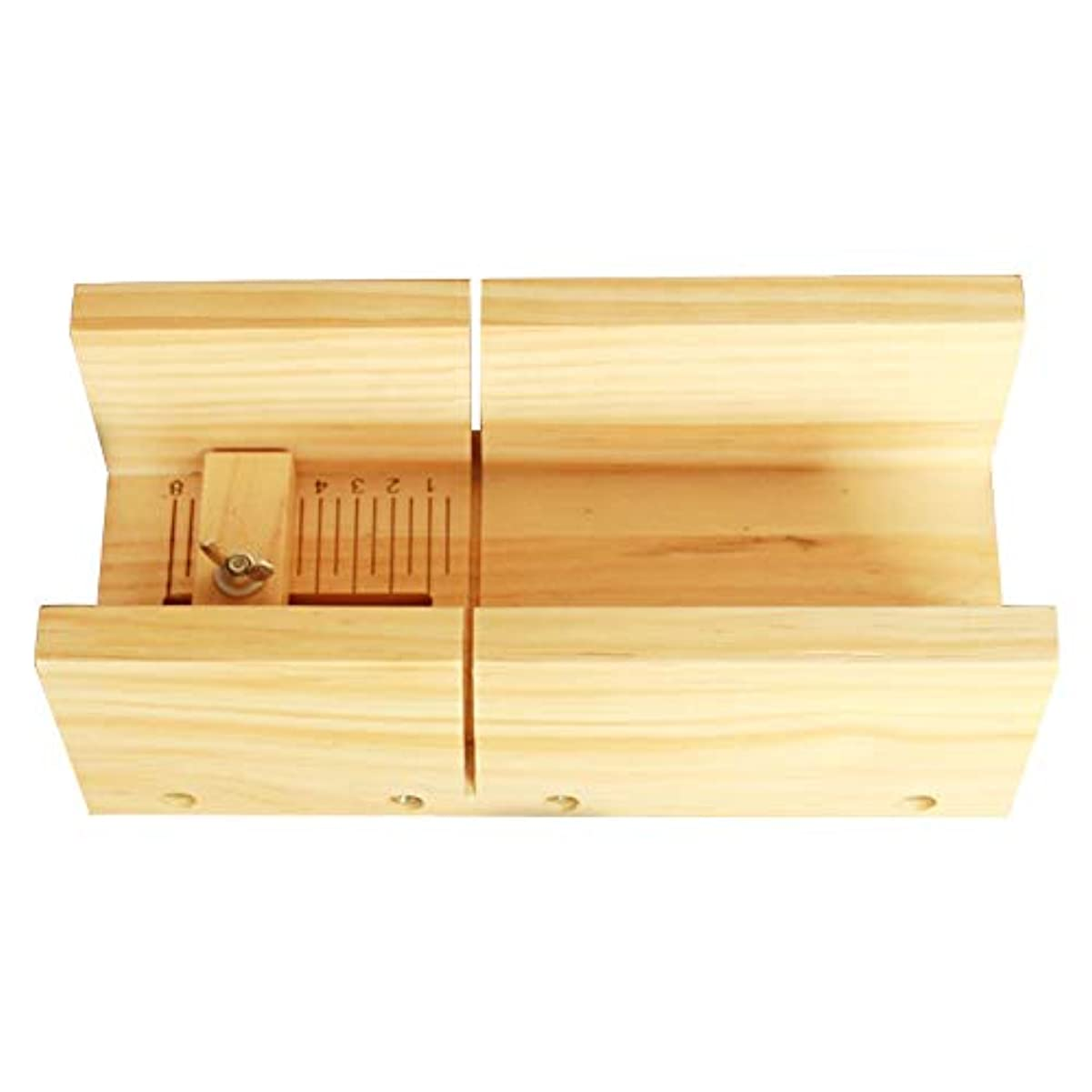 滞在賠償準備するソープカッター、多機能ソープカッターキャンドルケーキチョコレートカッティングツール木製ボックス器具キャンドルスケール用DIYクラフトを作る
