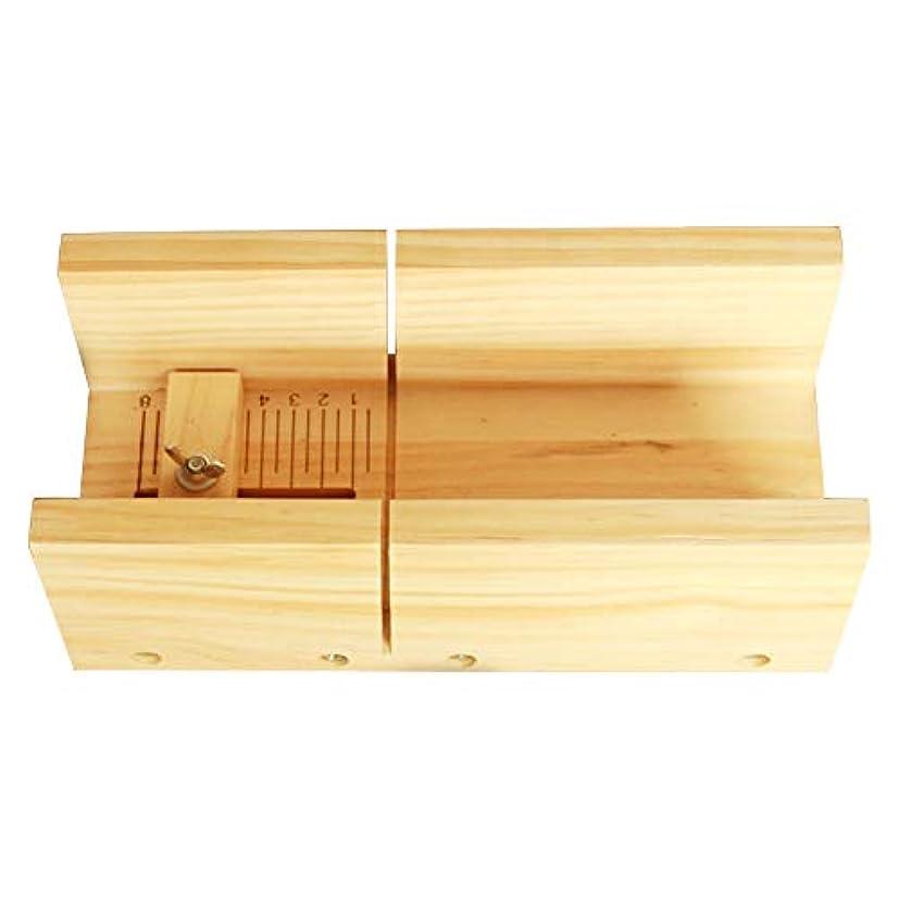 促進するドラフト審判ソープカッター、多機能ソープカッターキャンドルケーキチョコレートカッティングツール木製ボックス器具キャンドルスケール用DIYクラフトを作る