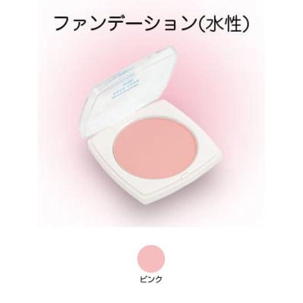 保持なすブラシフェースケーキ ミニ 17g ピンク 【三善】