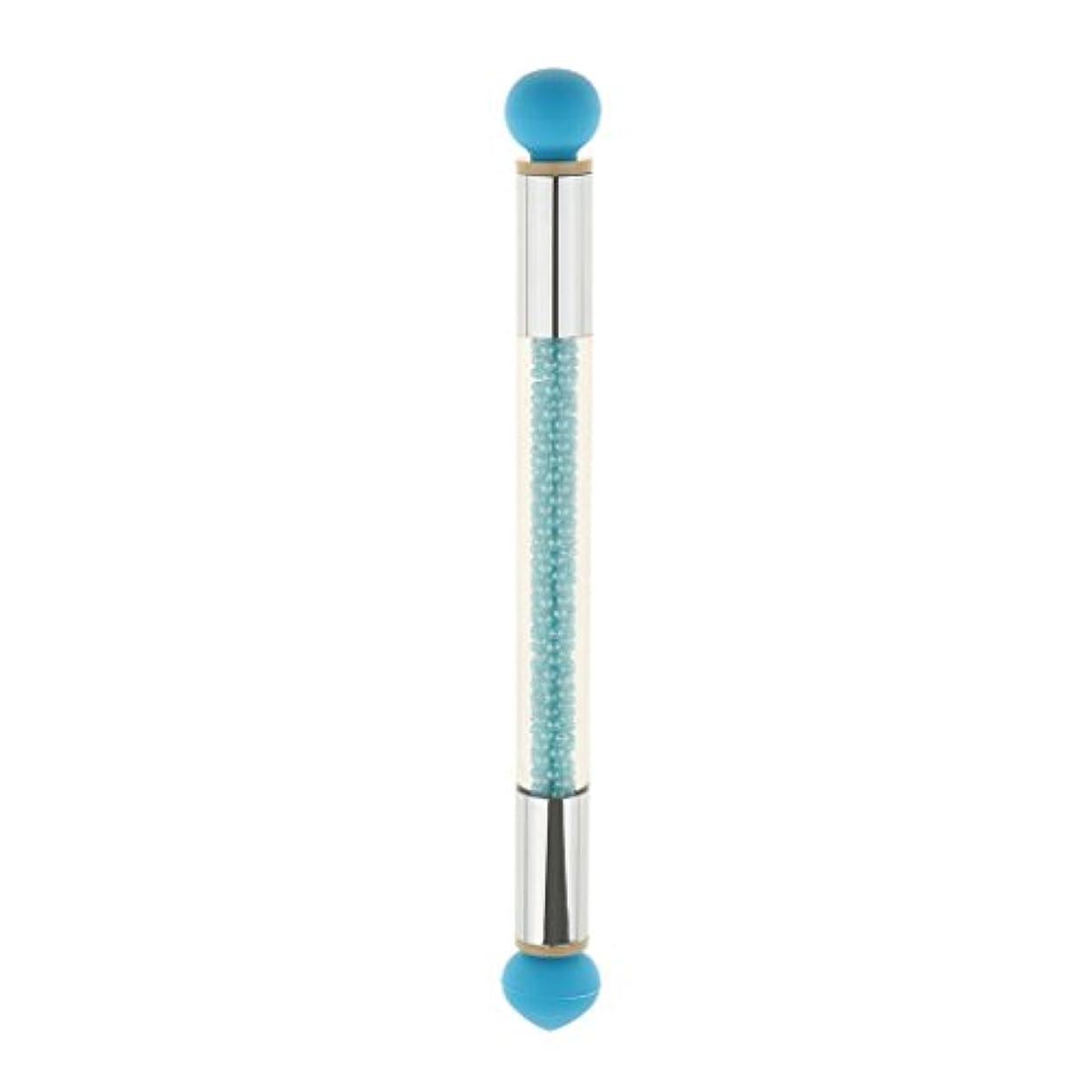 有名ペインギリック治すネイルアート ドットペン シリコーン 点滴ブラシペン 点描ペン ネイルデザイン 5色選べ - タイプ1