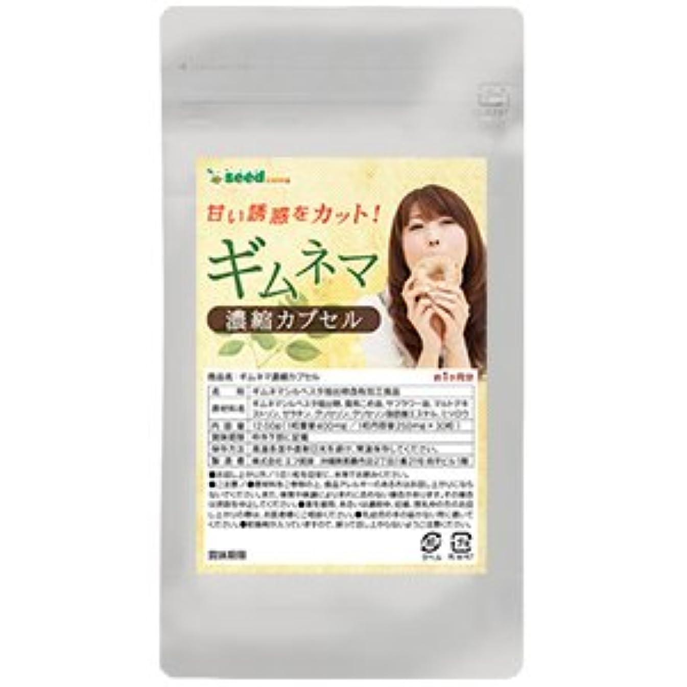 寝室ぴったり効率ギムネマ 濃縮カプセル (約3ヶ月分/90粒) ダイエットの天敵『糖分』が気になる方へ!