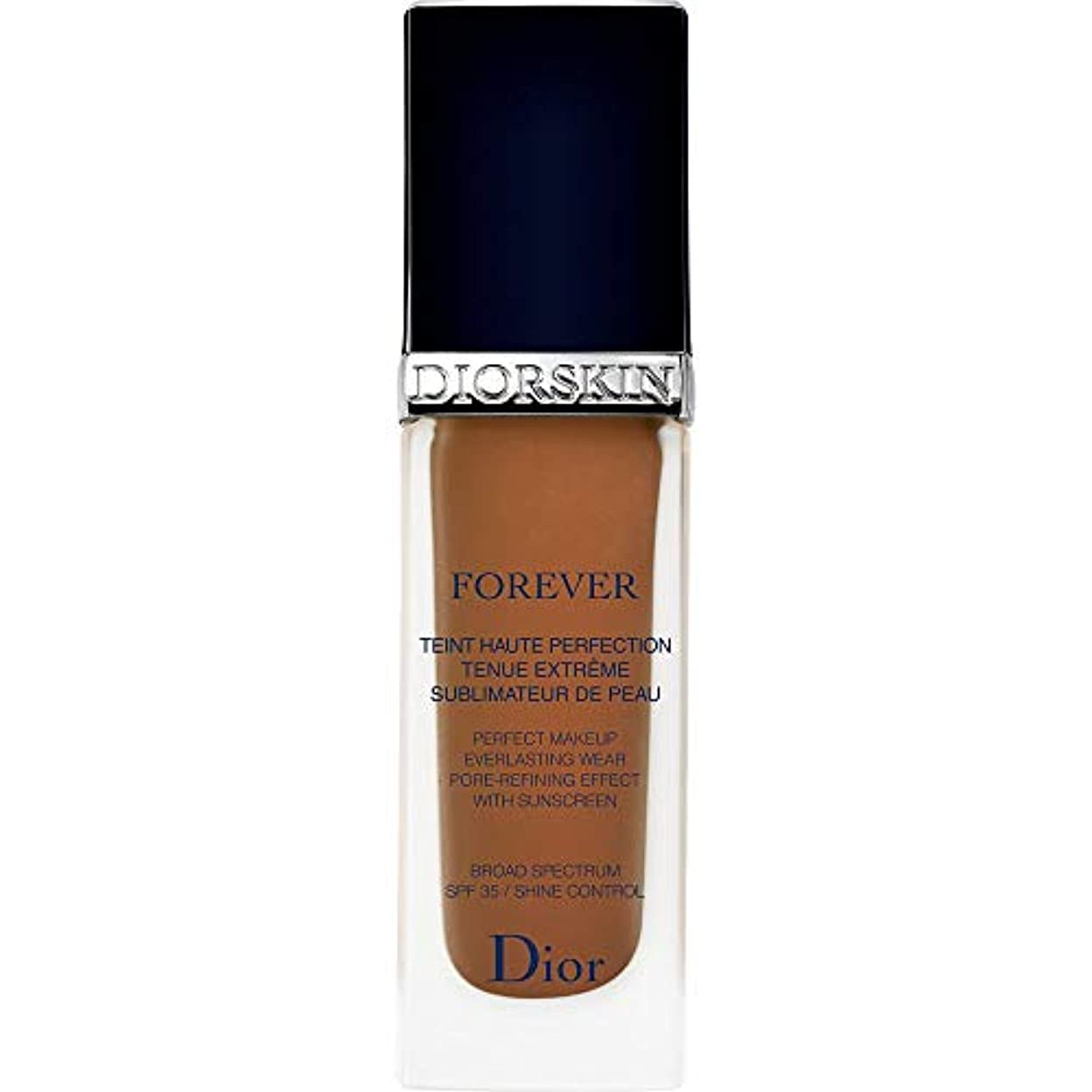 論文スコアシャッフル[Dior ] ディオールディオールスキン永遠基礎Spf35 30ミリリットル070 - ダークブラウン - DIOR Diorskin Forever Foundation SPF35 30ml 070 - Dark...