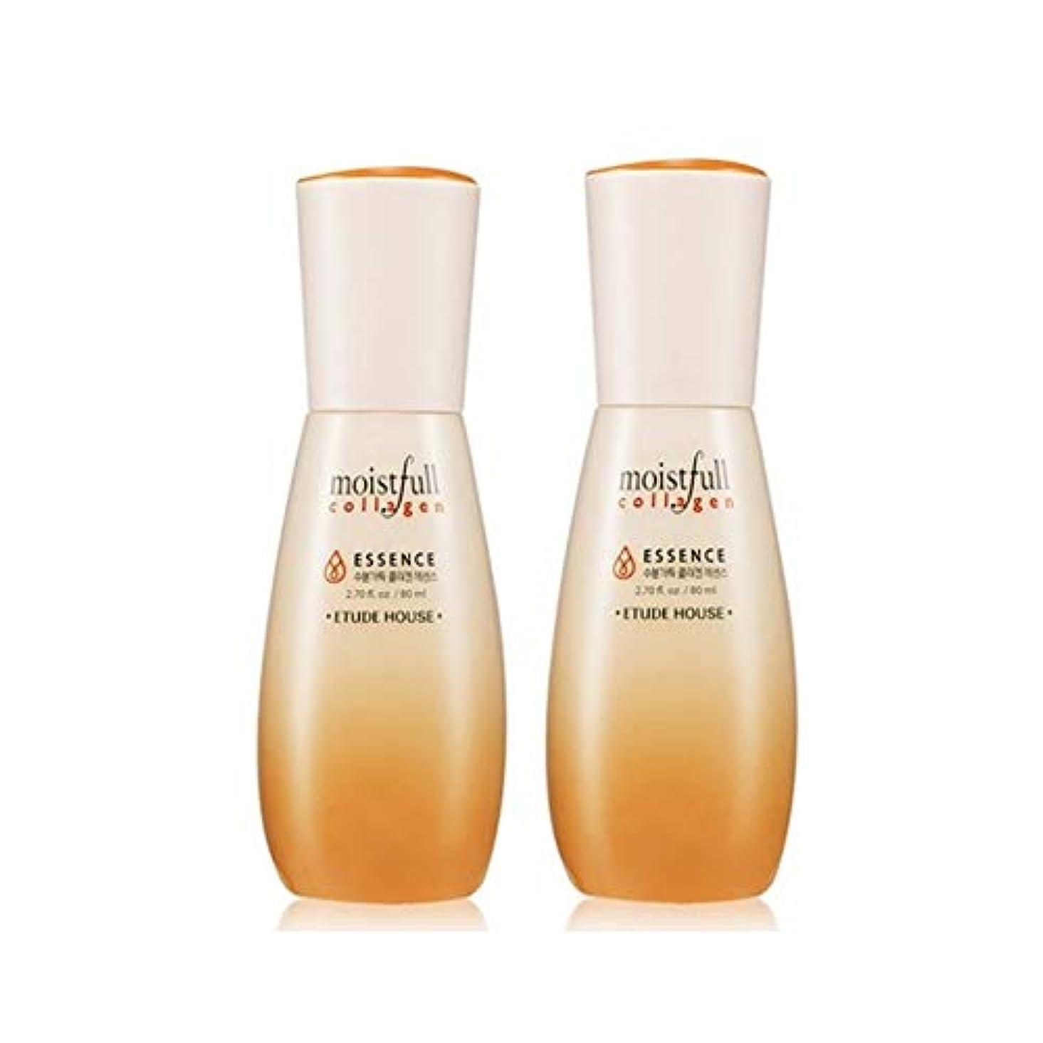エチュードハウス水分いっぱいコラーゲンエッセンス80ml x 2本セット韓国コスメ、Etude House Moistfull Collagen Essence 80ml x 2ea Set Korean Cosmetics...