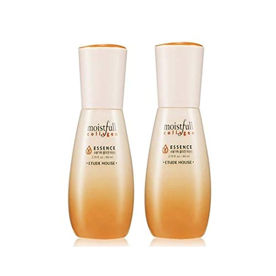 自明胴体インフラエチュードハウス水分いっぱいコラーゲンエッセンス80ml x 2本セット韓国コスメ、Etude House Moistfull Collagen Essence 80ml x 2ea Set Korean Cosmetics...