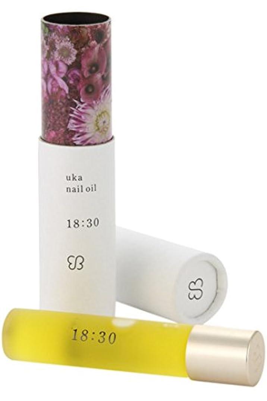 硬化する有望くるみウカ(uka) ネイルオイル 18:30(イチハチサンゼロ)〈フェミニンな香り〉 5ml