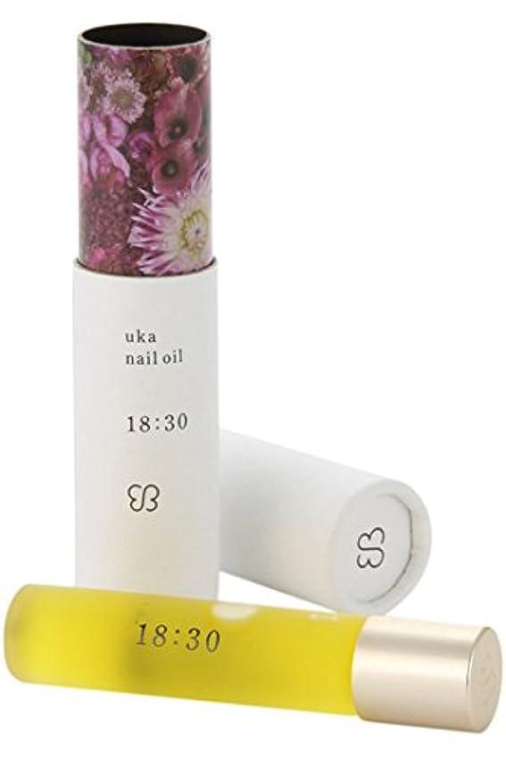 ストラップ乳白ラダウカ(uka) ネイルオイル 18:30(イチハチサンゼロ)〈フェミニンな香り〉 5ml