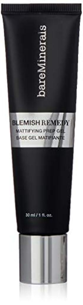 物語時間フラッシュのように素早くベアミネラル BareMinerals Blemish Remedy Mattifying Prep Gel (Primer) 30ml/1oz並行輸入品
