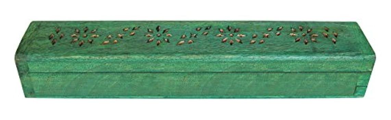 味方溢れんばかりの塗抹laroom 13443 Porta-inciensos ふた グリーン