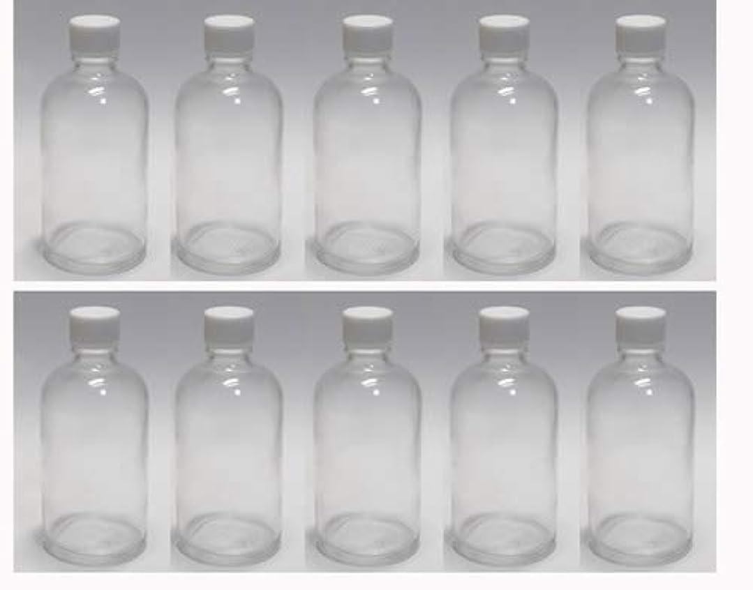 かき混ぜる靴下ボトルネック100ml ガラスボトル(空容器) 10本