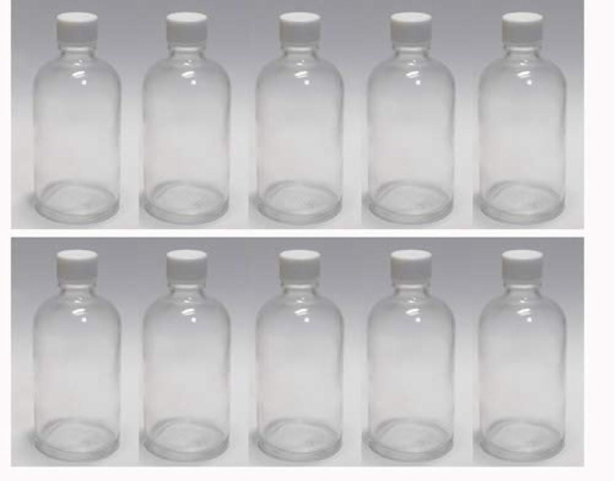 平日相対サイズ伴う100ml ガラスボトル(空容器) 10本