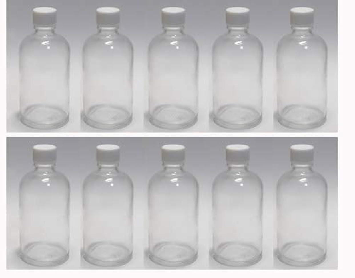 キルト献身多くの危険がある状況100ml ガラスボトル(空容器) 10本