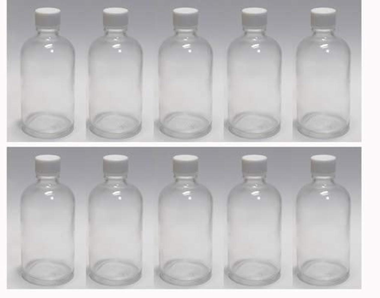 遅いスキャンダル習慣100ml ガラスボトル(空容器) 10本