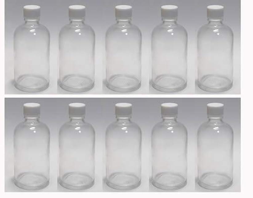 故意の油幸運な100ml ガラスボトル(空容器) 10本